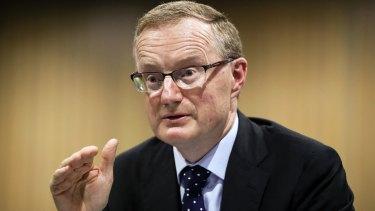 Reserve Bank governer Philip Lowe.
