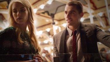 Emma Roberts and Dave Franco in <i>Nerve</i>.