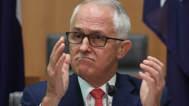 Prime Minister Malcolm Turnbull announced his shiny new energy and climate policy before the media on Tuesday.