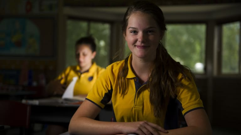 Covernant Christian School Year 10 students Shannon Buckpitt and Ellyn Cilliers have helped their school buck the ACT trend.