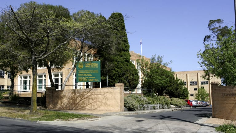 Camberwell High School is the second school where software containing personal data has been illegally accessed.