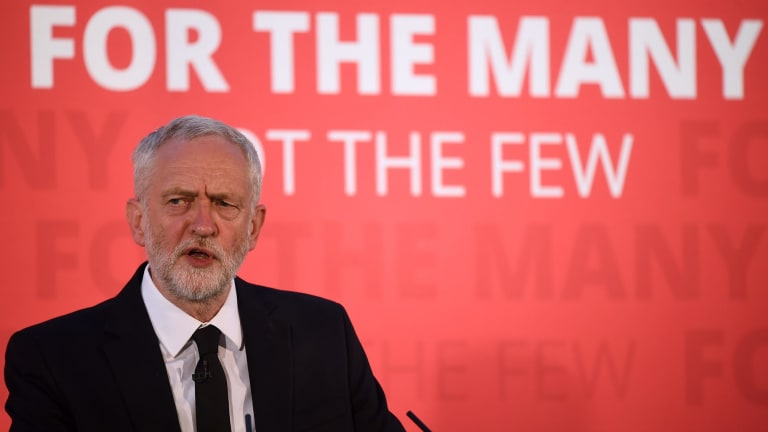 Labour Party leader Jeremy Corbyn had success in Britain advocating policies for great equality.