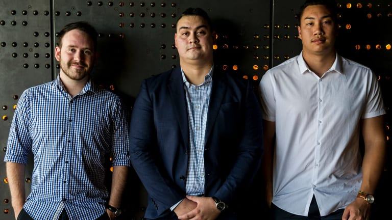 James Barling, Brad Wilton and Michael Phanprachit are the trio behind Erroyl, a local watch company that crowd funded on Kickstarter to get started.