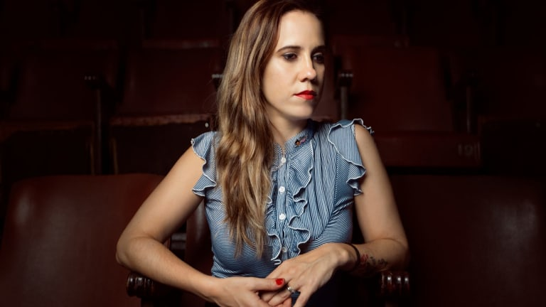 Waiting for the good things to come, country blues singer Leanne Tennant.