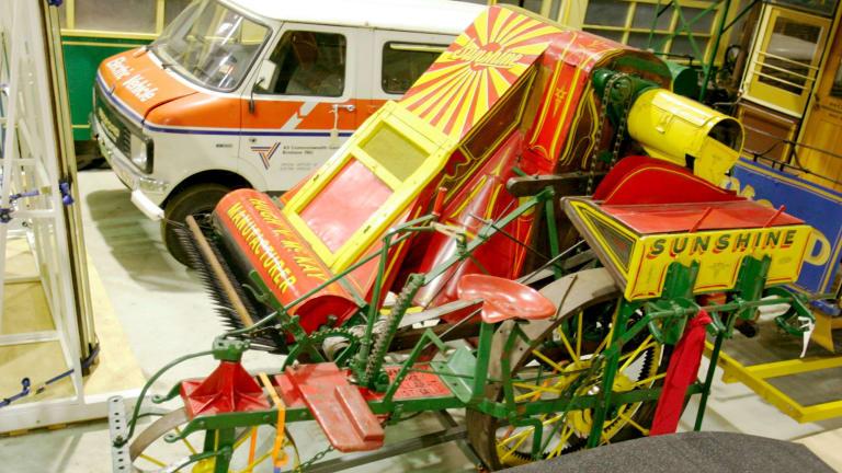 Sunshine harvester: the farm machine that helped create a minimum wage.