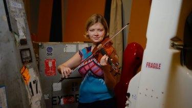Death becomes her: Violin virtuoso Alina Ibragimova makes no apologies for the sombre tone of her touring program.