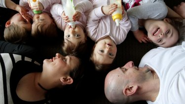 Five under five: how one family copes
