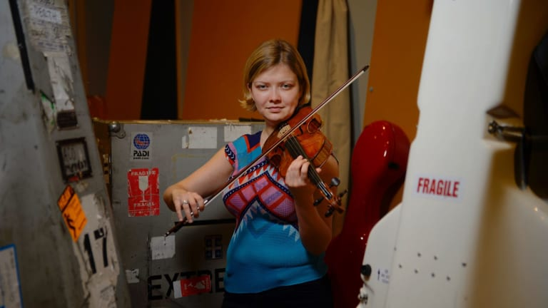 Death becomes her: Violin virtuoso Alina Ibragimova makes no apologies for the sombre tone of her touring program.