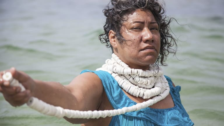 Latai Taumoepeau explores climate change in <i>Disaffected</i>, a new multi-disciplinary theatre work premiering at the Blacktown Arts Centre.
