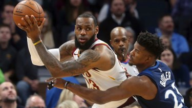 Speaking up: NBA superstar LeBron James has made his opinion clear on Donald Trump.