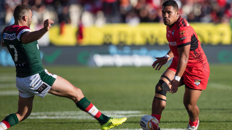 Tonga coach Kristian Woolf says it's up to Siliva Havili to make the most of his opportunity in Canberra.