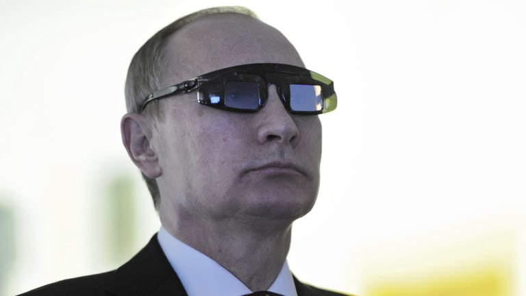 """Vladimir Putin: """"This is not an army, this is a foreign legion - in this particular case NATO's foreign legion."""""""
