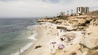 La Jolla Cove beach, San Diego.