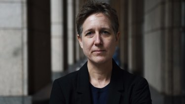 """""""I think it is a crisis for enterprise bargaining"""": Head of the ACTU Sally McManus."""