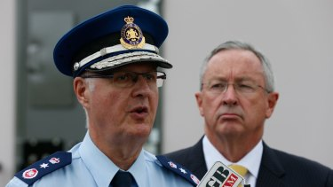 The threat was allegedly made against NSW Corrective Services Commissioner Peter Severin.