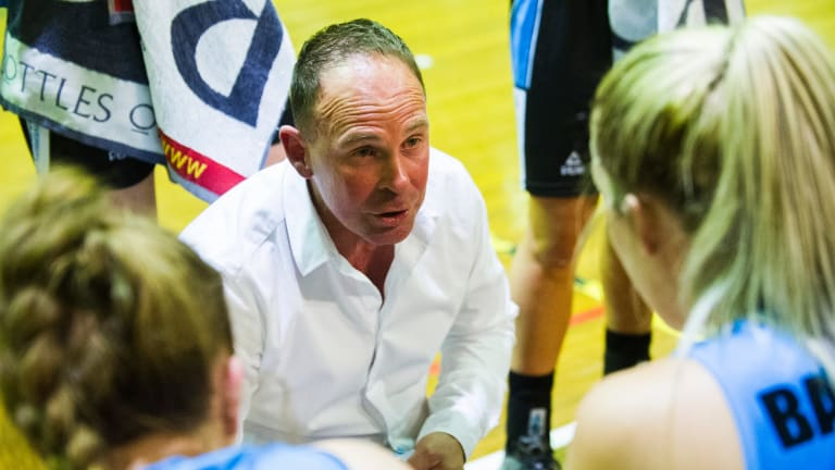 Maddi Rocci is widely considered an Opal-in-waiting and came across Capitals coach Paul Goriss' radar at the AIS.