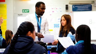 Compelling TV: One of the teachers in training is sent to Melton Secondary College.