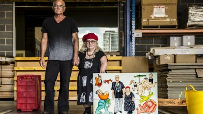 Life and art go hand in hand for Robyn and Eric