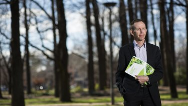 Shane Rattenbury says if we overindulge in road building, Canberra will become a car-centric city that is congested and polluted.