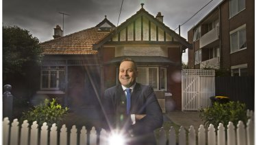 Agent Adrian Wood sold this St Kilda West home in February for $2.2 million - a long way off the $17,000 houses like it traded for the last time it sold in 1976. A new Valuer-General report shows St Kilda West house prices shot up 58 per cent last year alone.