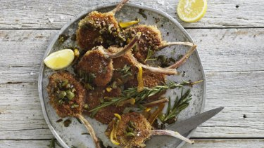 Adam Liaw's lamb cutlet schnitzels, and Anzac biscuit cake
