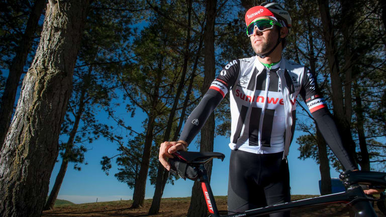 "Canberra cycling star Michael Matthews has won the Cycling Australia ""triple crown""."