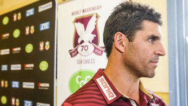 """""""All I have said to them [the Manly players] is ignore it"""": Trent Barrett."""