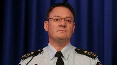 'Hamstrung': AFP Deputy Commissioner Mike Phelan.