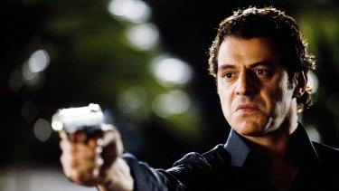 "Vince Colosimo portrays the ""Black Prince of Lygon Street"", Alphonse Gangitano. in Underbelly"