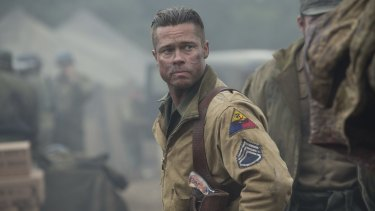 Leaked: copies of Brad Pitt's <i>Fury</i> are reportedly being distributed online via peer-to-peer downloading sites.