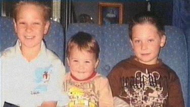 Brothers Jai, Bailey and Tyler Farquharson.