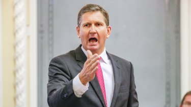 Opposition Leader Lawrence Springborg is furious over the reintroduction of compulsory preferential voting.