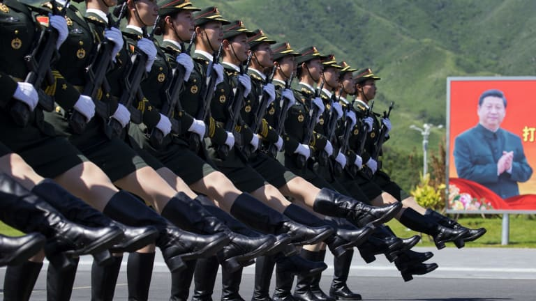Xi Jinping consolidated control over the army as part of his push to consolidate his power.