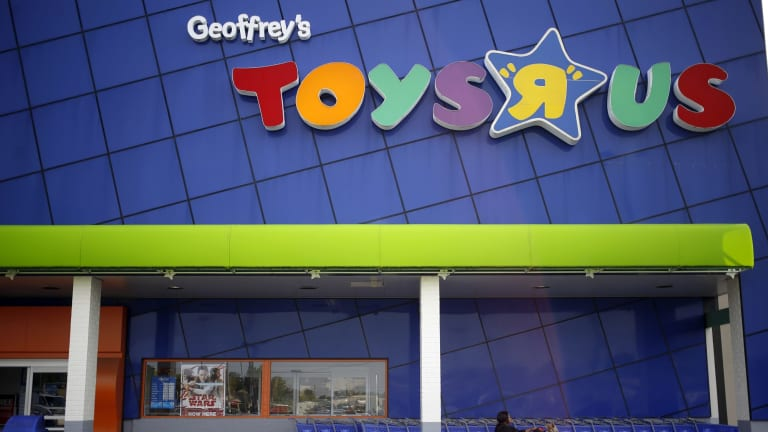 A Toys R Us store in Louisville, Kentucky. The retailer's US parent company is filing for bankruptcy.