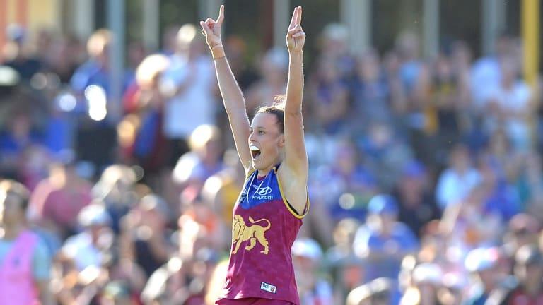 Brisbane Lions AFLW captain Emma Zielke has been denied a home grand final.
