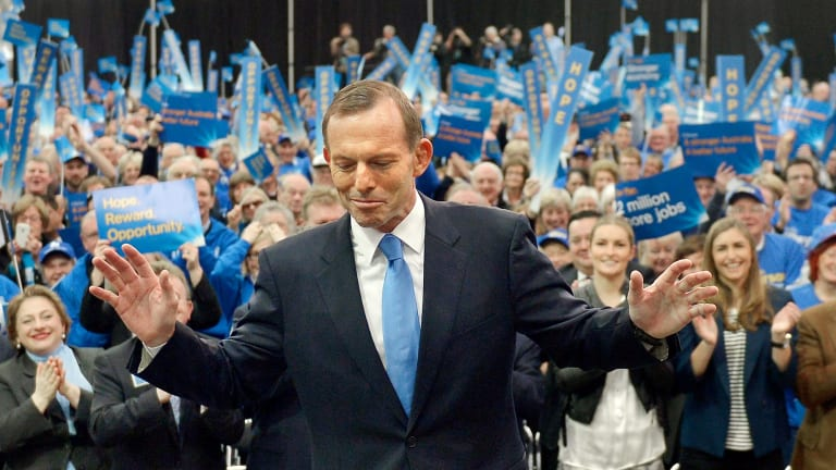"Tony Abbott has led a party noted for intolerance, especially in its ""stop the boats"" campaign."