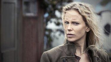 Sofia Helin as Saga Noren, one of the stars of Scandinavian noir.