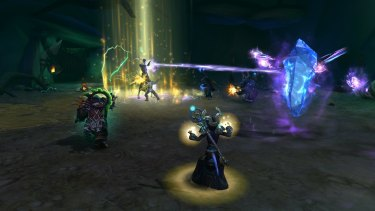 A screen from the latest World of Warcraft expansion, <i>Legion</i>.