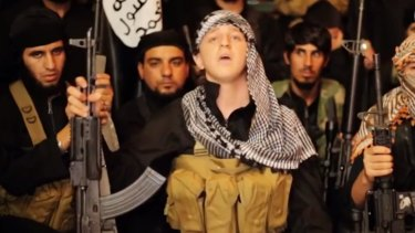 Sydney teenager Abdullah Elmir has appeared in several Islamic State videos.