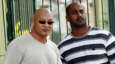 Clemency bids denied: Andrew Chan, left, and Myuran Sukumaran potentially face execution, along with more than 60 other prisoners.