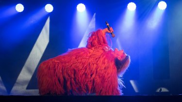 Peaches wows at Meredith. Picture: Aunty Meredith @ Flickr
