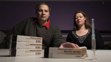 Sione Crawford and Carrie Fowlie have campaigned for the availabilty of naloxone for use in drug overdoses.