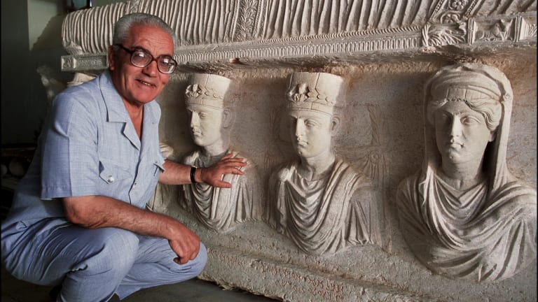 Syrian scholar Khaled al-Asaad was executed by IS militants for refusing to reveal the location of cultural artefacts.