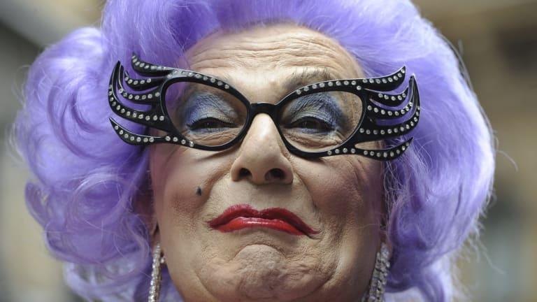 Dame Edna Everage, 60 years a mega-star.
