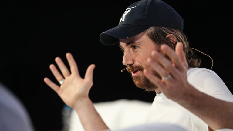 "Atlassian's Mike Cannon-Brookes says the Australian investment community ""has a lot of learning to do about technology""."