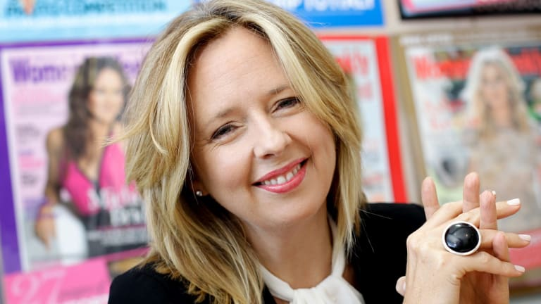 9Honey boss and former Australian Women's Weekly editor Helen McCabe.