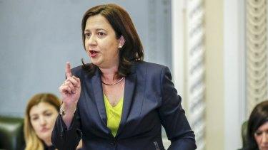 Premier Annastacia Palaszczuk.