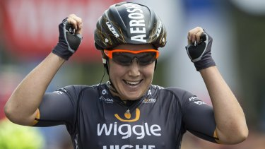 Canberra's Chloe Hosking will now ride at the world championships,