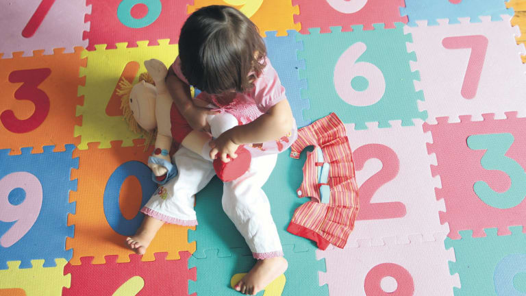 Researchers have found that children who are heavy users of childcare centres are more ready for school, but face social problems.
