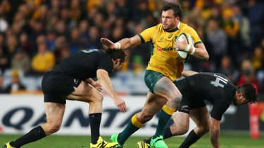Confident: Adam Ashley-Cooper is looking for a fairytale ending to his Test career.